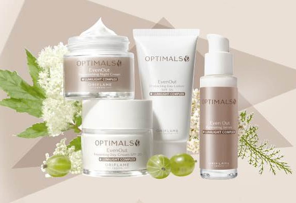 optimals evenout oriflame