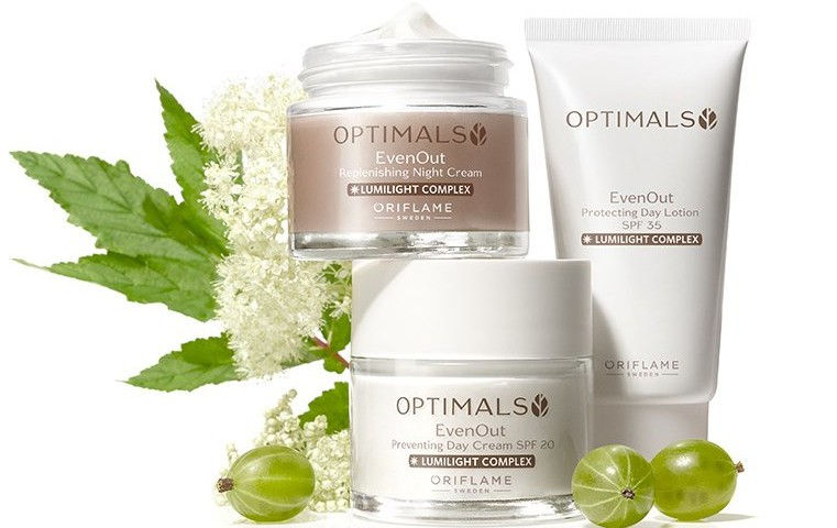even out optimals oriflame